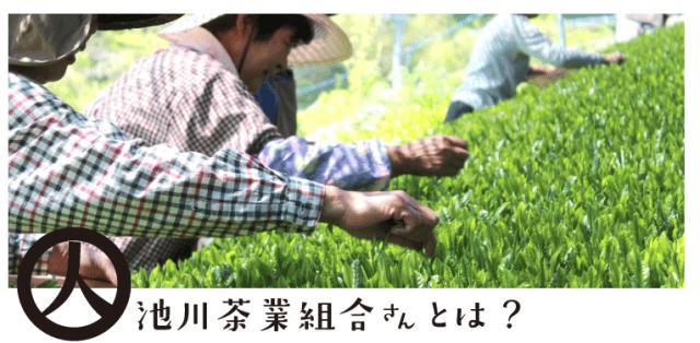 池川茶業組合の独自のブランド!