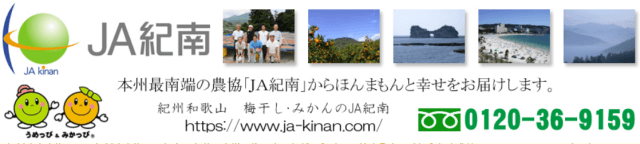 JA紀南のオンラインショップで購入