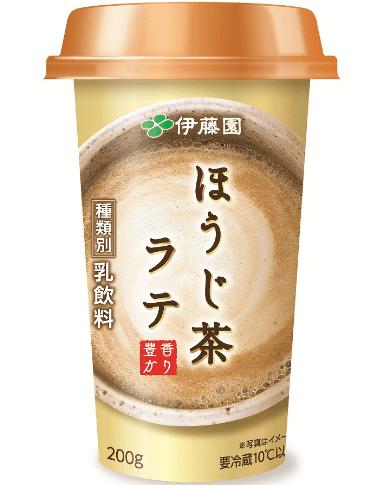 伊藤園『ほうじ茶ラテチルドカップ』のデータ