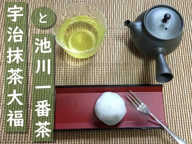 濃厚な抹茶と和三盆の甘さがおいしい!