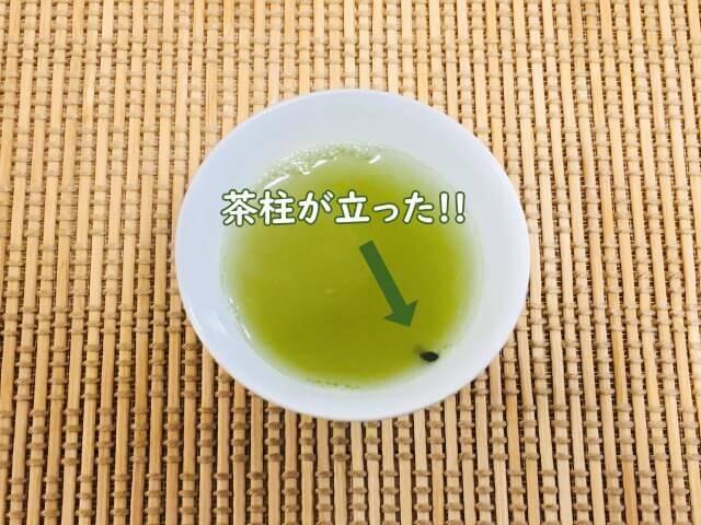 茶柱縁起茶_茶柱が立つ