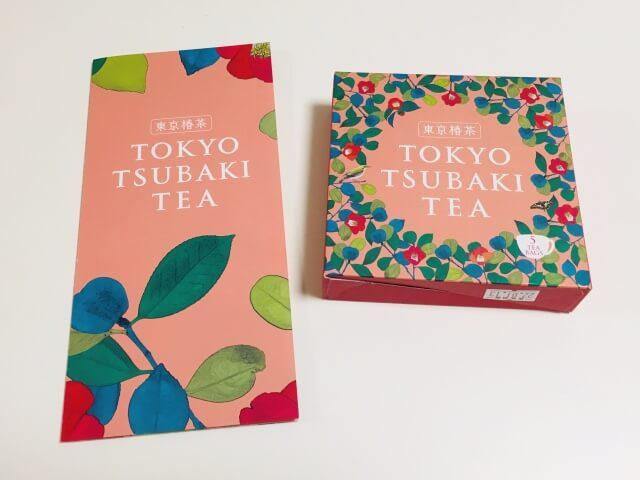 リラックスしたティータイムに「東京椿茶」