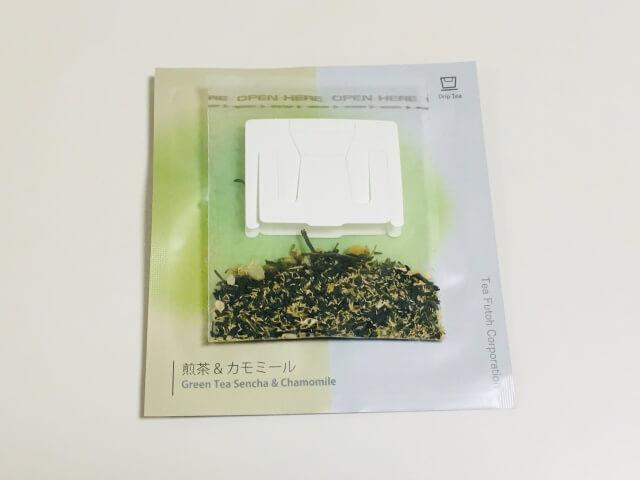 煎茶&カモミールの茶葉