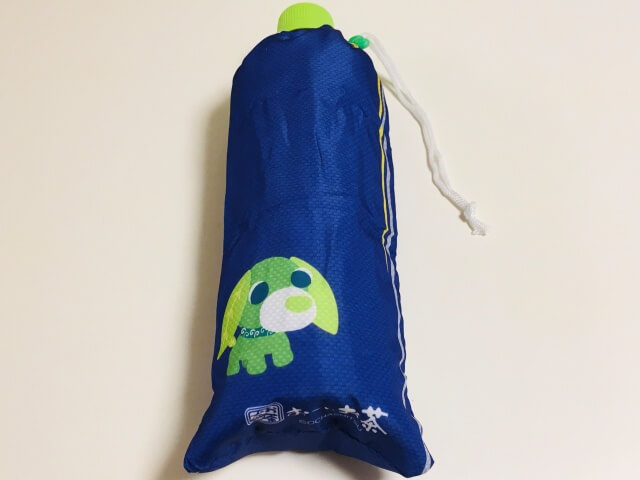 緑茶犬(背景紫)