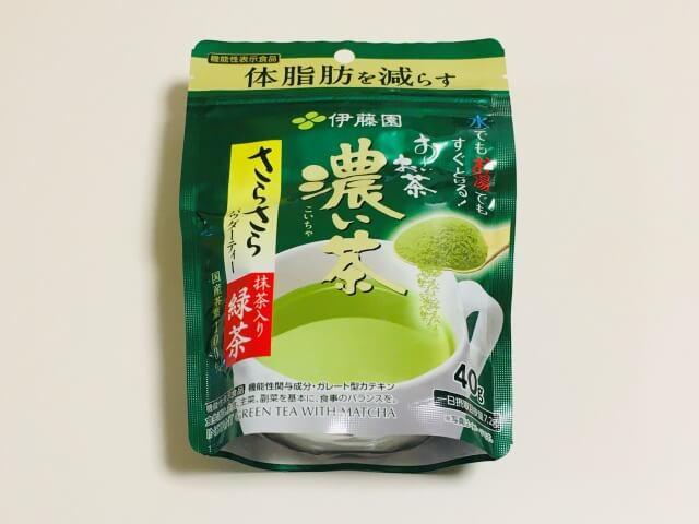 おーいお茶「濃い茶」粉末_商品画像