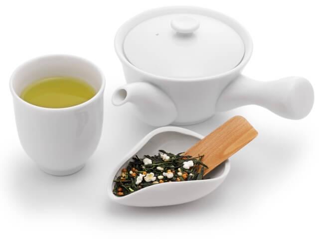 玄米茶の香ばしさを味わおう!